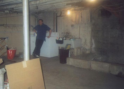 Basement Water Proofing BDry System NEPA - All dry basement waterproofing