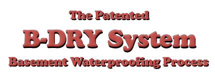 Foundation waterproofing Be Dry Systems